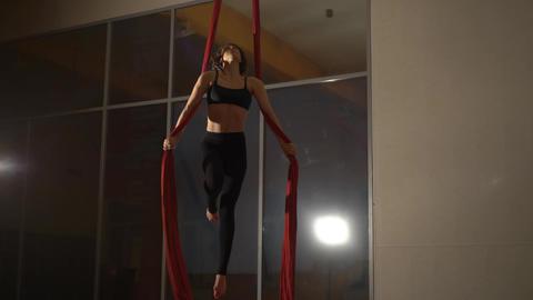 Aerial Silk Performer Footage