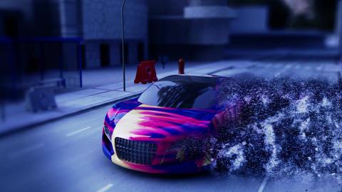 Storm Car Animation