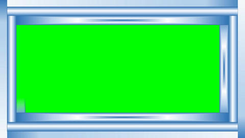 Green Mat Set Of Animated Frames 3d Hearts Binary Code Animation