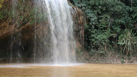 Waterfall in Vietnam Footage