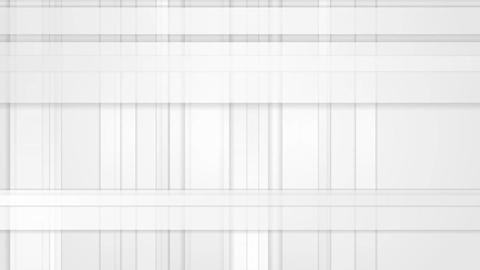 White and grey tech abstract stripes video animation Animation