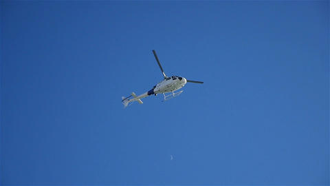 Video of helicopter flight Filmmaterial