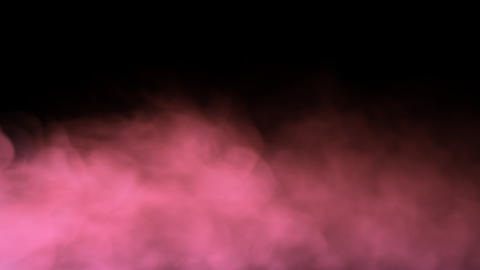 Smoke Background Loop with alpha - Pink Dream Smoke Animation