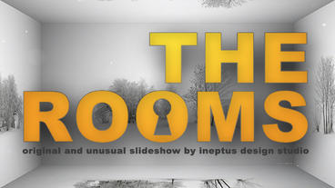 The rooms Apple Motion Template