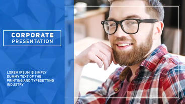 Modern Corporate Presentation Template After Effect