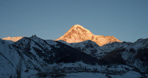 Mountain Kazbegi