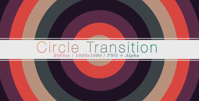 The Circle Transition (20 pack) After Effects Templates