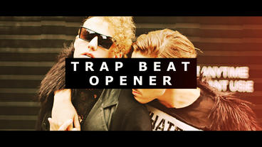 Trap Beat Opener After Effects Template