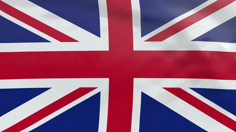 Flag of Great Britain Animation
