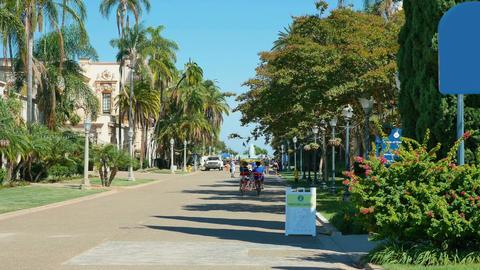 Video of beautiful Balboa Park in San Diego in 4K Footage