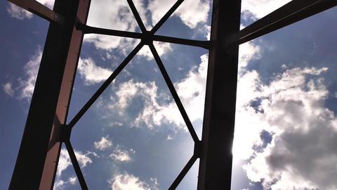 鉄橋と青空 ビデオ