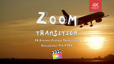 Zoom Transition Apple Motionテンプレート