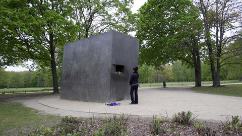 Berlin Memorial for the Homosexuals Persecuted Under Nazism Footage