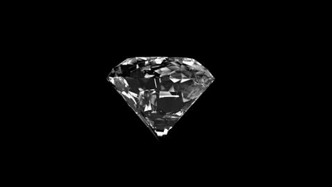 Shiny diamond with alpha channel CG動画