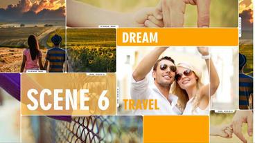 Slide show Dream travel Plantilla de After Effects
