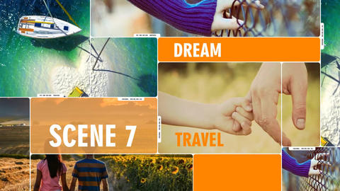 Slideshow travel After Effects Template