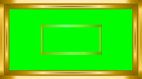 Green Mat Set Of Animated Frames 3d Hearts Binary Code Animation 0