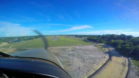 Landing a single-engine aircraft to Mafia island, Live Action