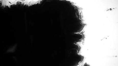 Black Ink Drops Live Action