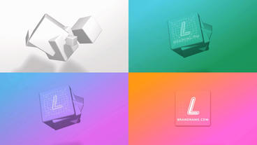 3D Drawing Logo Reveal After Effects Template