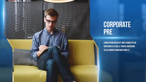 Corporate Presentation Slideshow After Effects Template
