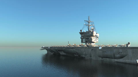 Aircraft carrier CG動画
