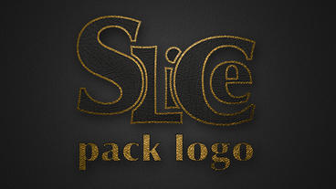 Slice pack logo Plantilla de Apple Motion