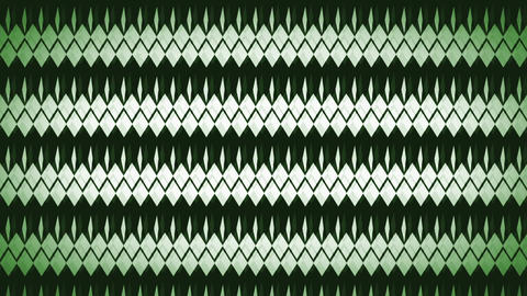 Loopable Green Diamond Motion Background Animation
