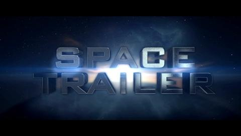 Space Trailer Unlimited After Effects Template