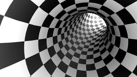 Aspiration (chess metaphor). 3D animation. Seamless Looping Animation