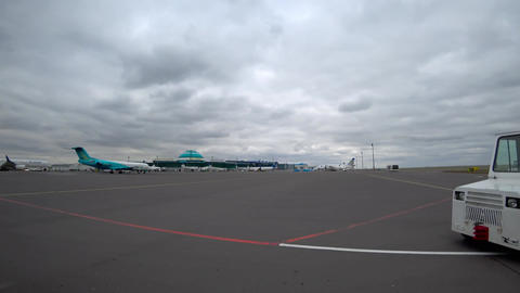 Astana International Airport Footage