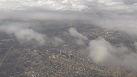 Aerial view Astana, Kazakhstan Footage