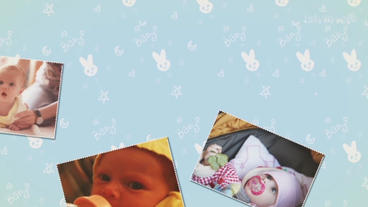 Baby Slideshow Plantilla de After Effects