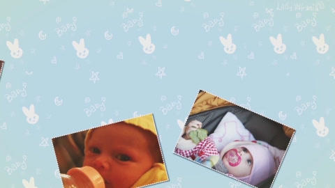 Baby Slideshow After Effects Template