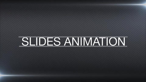 Slides animation After Effects Template