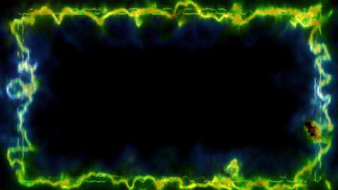Frame material CG energy Animation