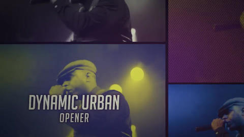 Short Glitch Urban Opener After Effects Template