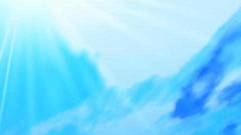 Sky sun Animation
