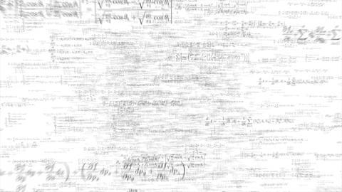 Formula formulae fly through math science data financial teacher tech 4k Footage