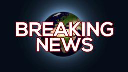 4k Breaking News Intro stock footage
