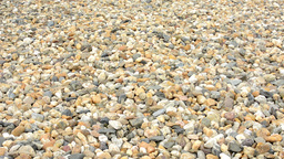 Multicolored Small Stones - Background stock footage