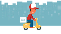Delivery service Animation