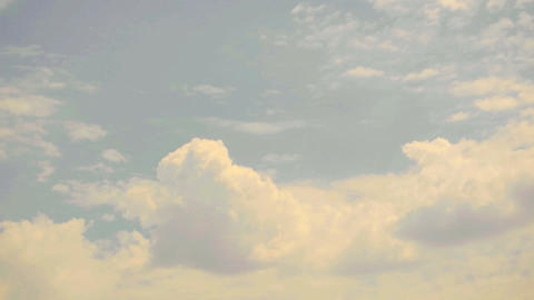 Natural Clouds Footage