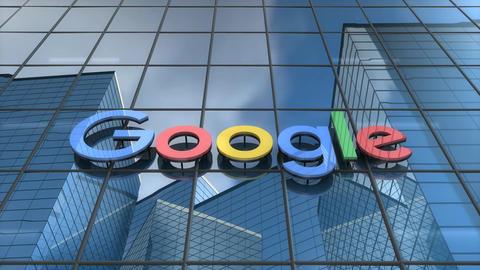 Editorial Google building Animation