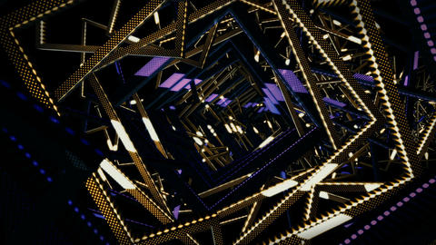 VJ Tunnel Loops CG動画素材