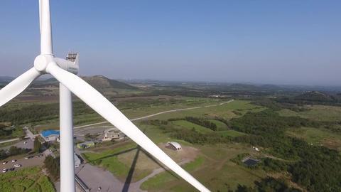 Drone a dazzling film(wind power generator) ビデオ