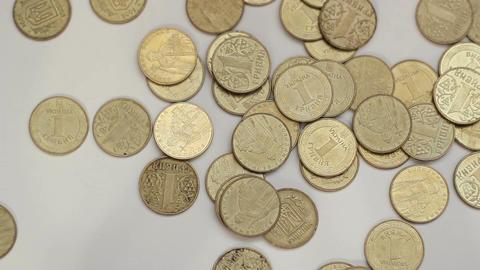 Ukrainian Coins Footage
