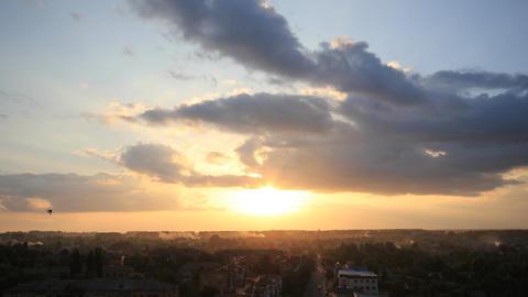 Time Lapse Sunset ビデオ