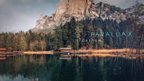 Atmospheric Parallax Slideshow After Effects Template