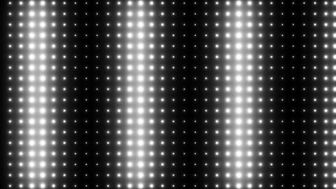 Lighting Show Stage Lights Black and White Animation